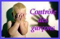 Le contrôle des garçons