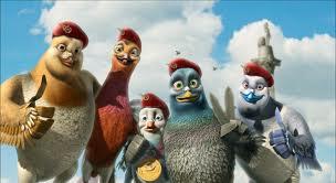 pigeon-équipe-dessin-animé