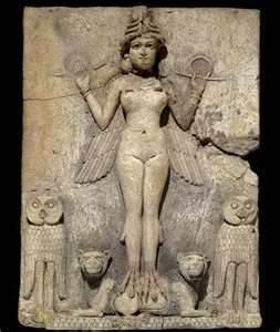 Il y a 4700 ans, Inanna chez les Sumériens, tente l'aventure féministe