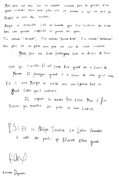 roxane-depardieu-lettre-petit