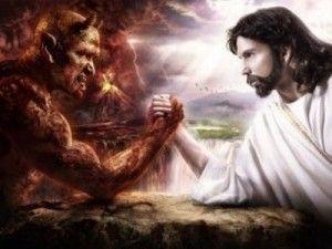 satan contre Jésus