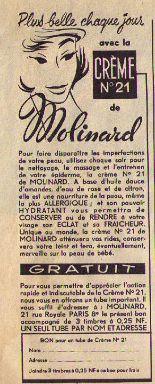 Molinard publicité oct62