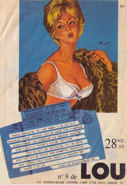 Lou publicité aout61