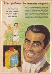 lotion vivifiante publicité