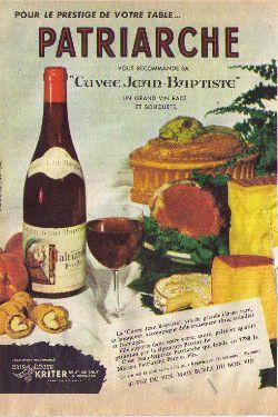 cuvée patriarche vin