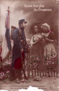 Sous les plis du drapeau Alsace Lorraine guerre 14 18