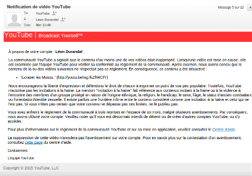 message youtube