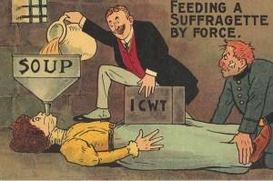 nourrir suffragette