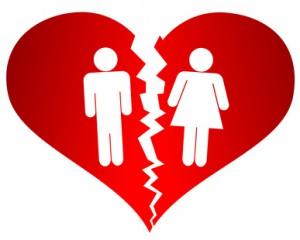 Les divorces se passent mal