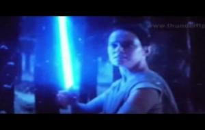 Rey prend sabre luke