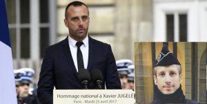 (Xavier Jugelé): Une union homosexuelle avec un mort